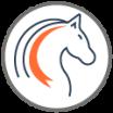 Pferde im  Naturdorf